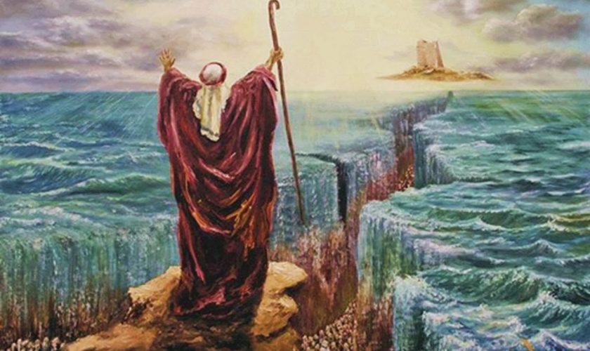 """""""Miracolul lui Moise"""" a fost real. Ce au descoperit acum oamenii de știință despre misterul biblic"""