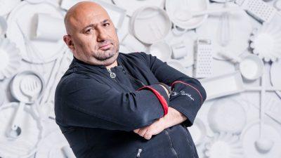 Cătălin Scărlătescu s-a îngrășat din nou. Cum arată acum celebrul jurat de la Chefi la Cuțite