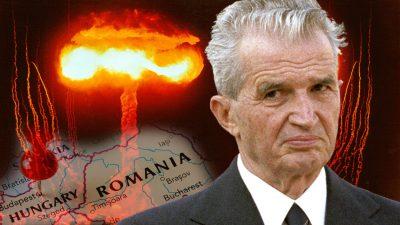 Adevărul despre bomba atomică a lui Ceaușescu. Ungurii erau înfricoșați