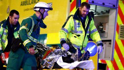 Scenele groazei la Londra! Autoritățile se luptă să salveze oamenii răniți