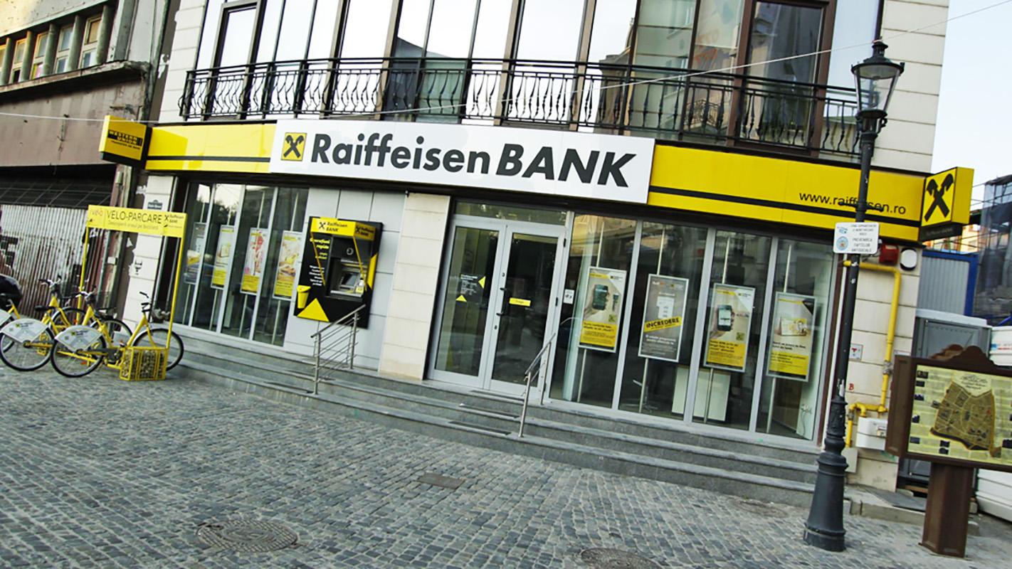 Intrare într-o bancă