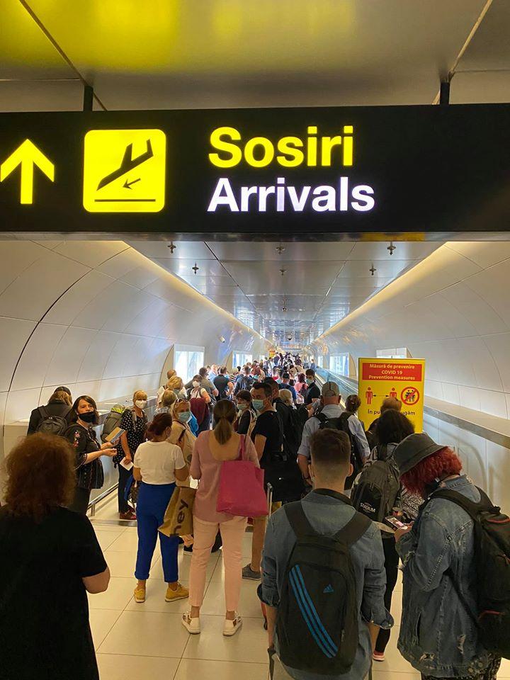 Scene șocante pe Aeroportul Otopeni. Se întâmplă acum cu sute de pasageri