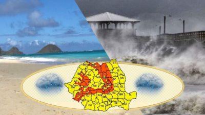 Vremea le dă românilor planurile de vacanță peste cap! Prognoză meteo îngrijorătoare pentru următoarele patru săptămâni