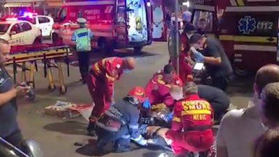 Accident extrem de grav în sectorul 6 al Capitalei, după impactul unui autoturism cu o motocicletă. Imagini video cu impact emoțional