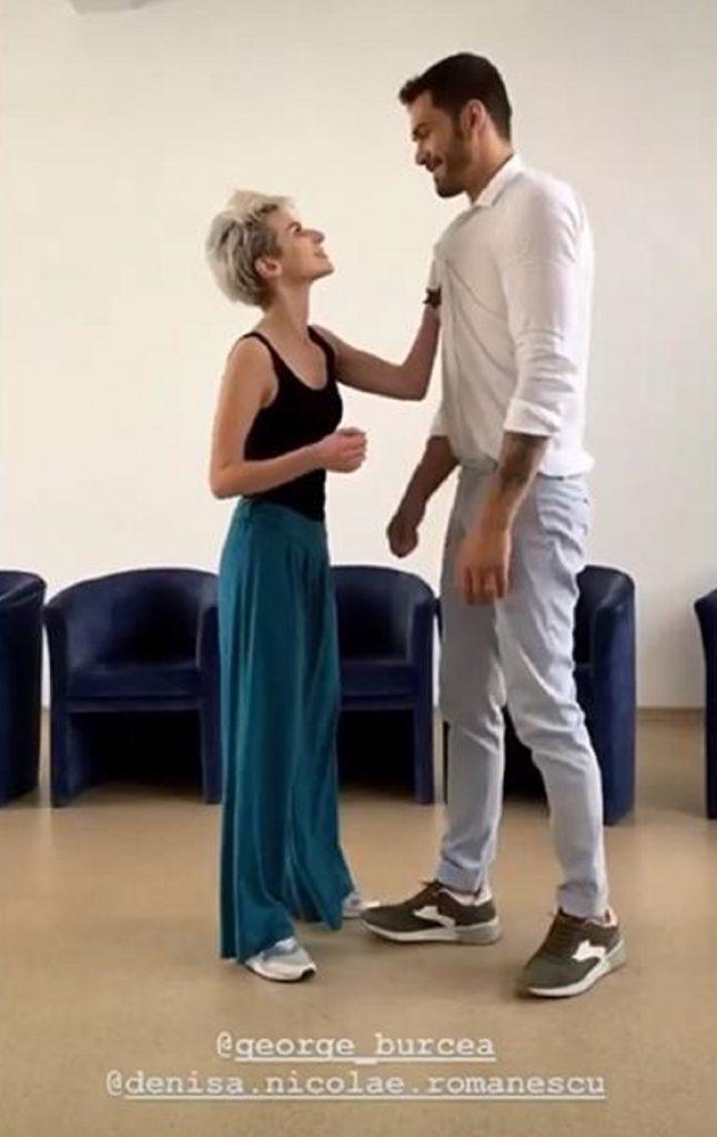 George Burcea și Denisa Nicolae