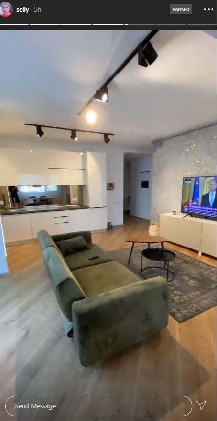 Noul apartament al lui Selly