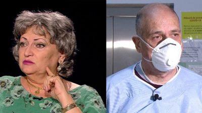 """Ultima oră. Scandal uriaș între medicul Monica Pop și Virgil Musta: """"Asta este o incitare a pacienților care au Covid ca să nu mai vină la spital"""""""