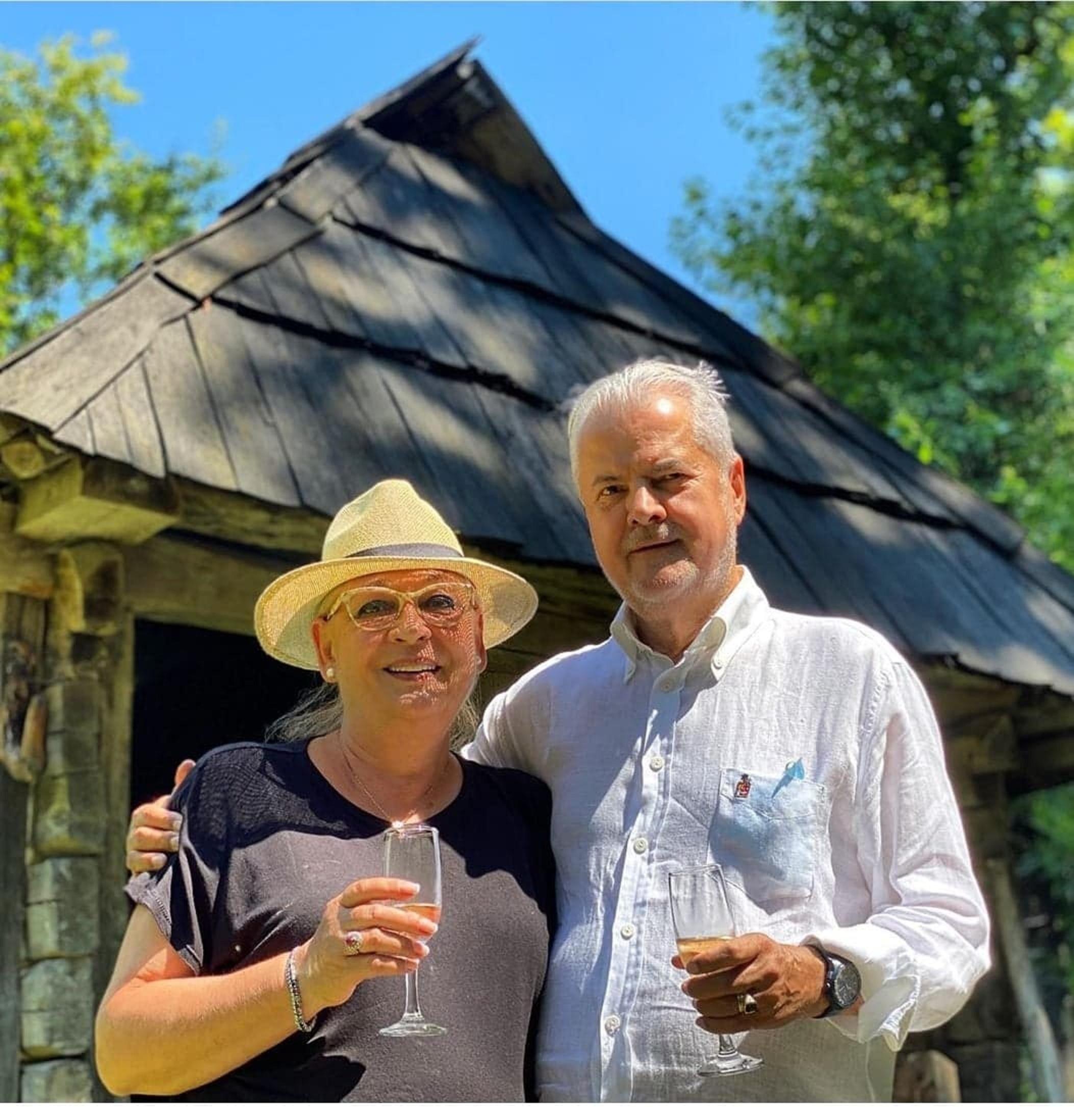 Așa artă Adrian și Dana Năstase după 35 de ani de căsătorie