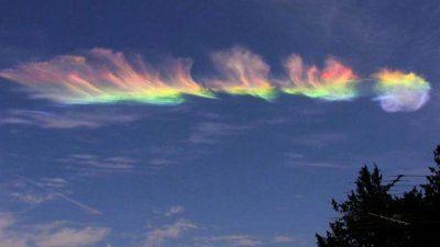 Fenomen rar pe cer. Ce este, de fapt, norul curcubeu. Explicația specialiștilor
