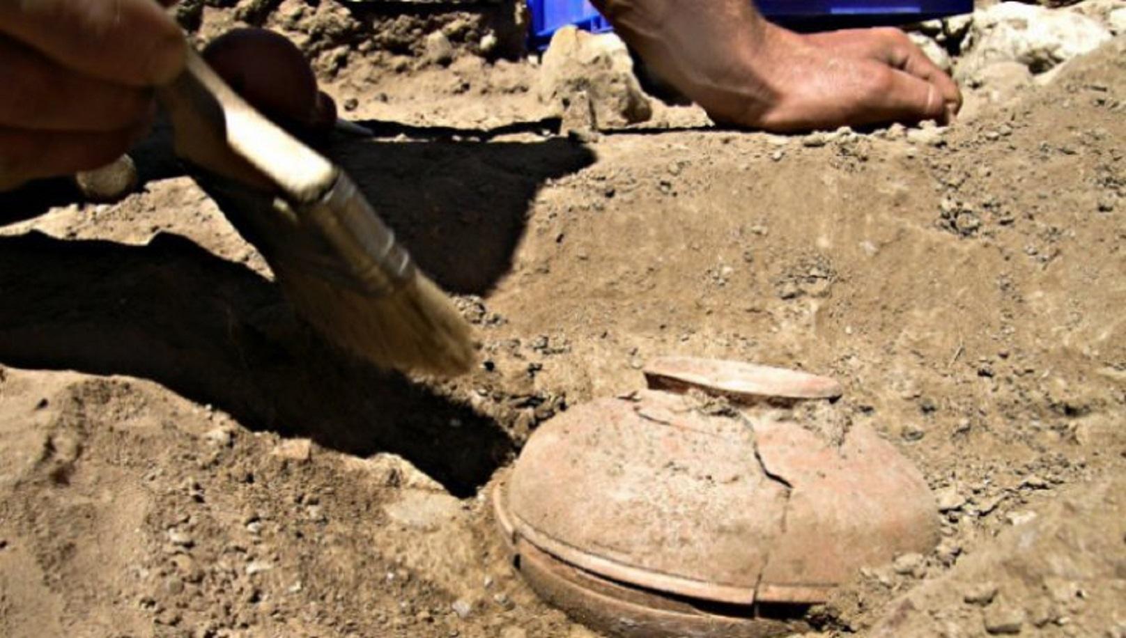 Arheologii din Timiș au descoperit cenușă umană în două morminte foarte vechi