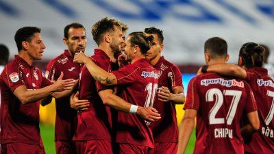 CFR Cluj este campioana României pentru a treia oară consecutiv! Victorie la Craiova, în finalul campionatului