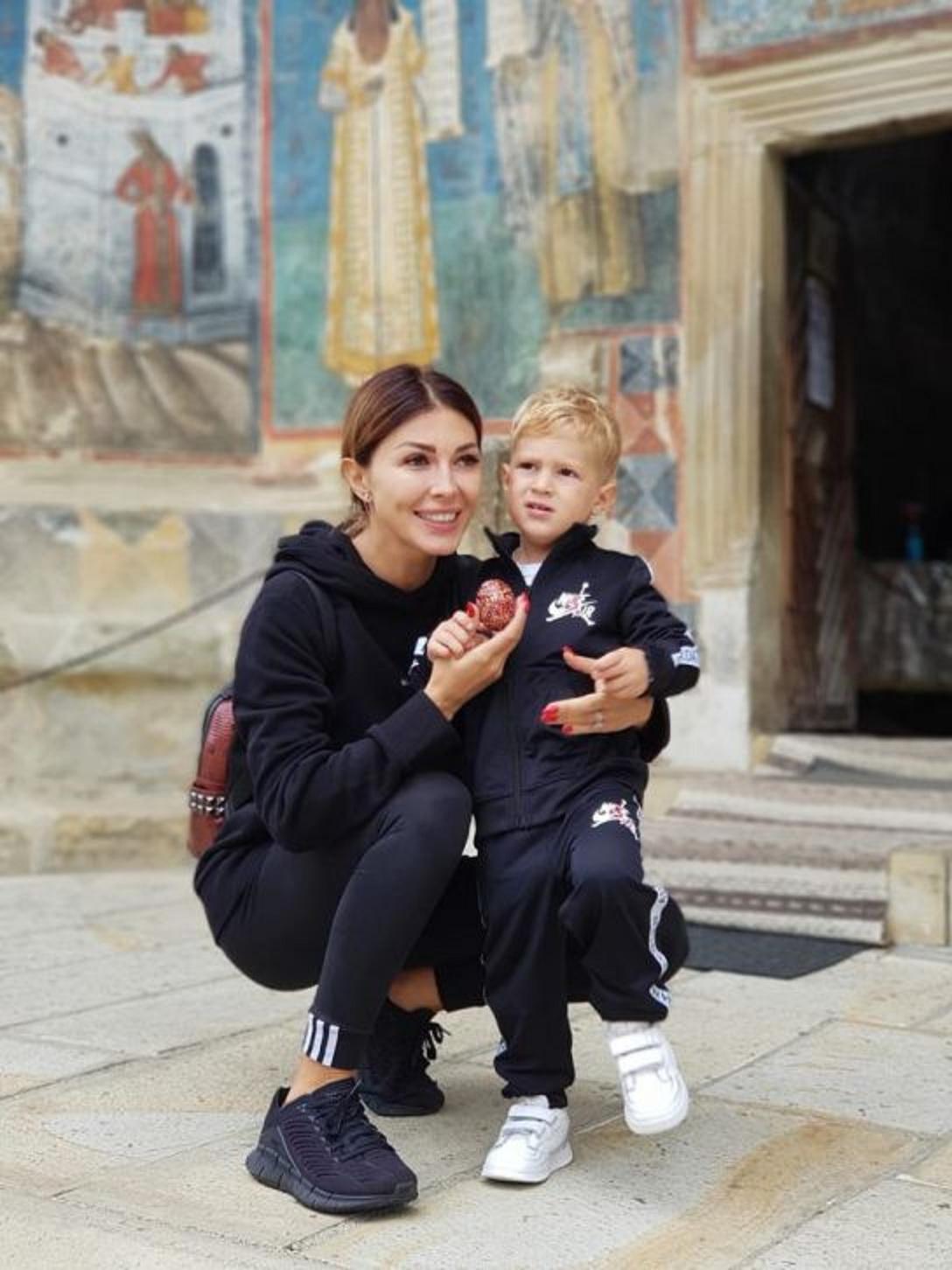 Ilinca Vandici și fiul ei