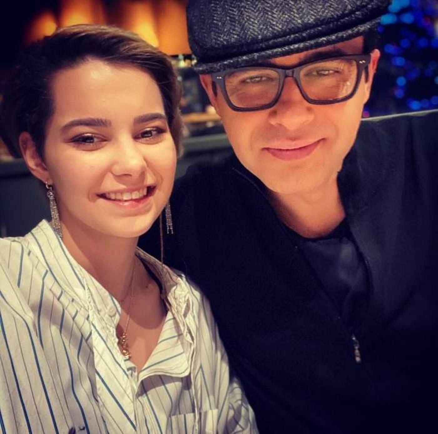 Mihai Gâdea și fiica sa, Karina Maisha