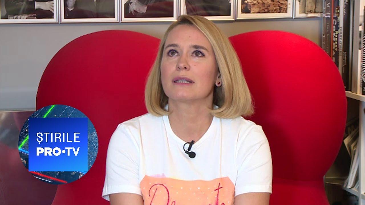 Andreea Esca, diagnosticată cu COVID