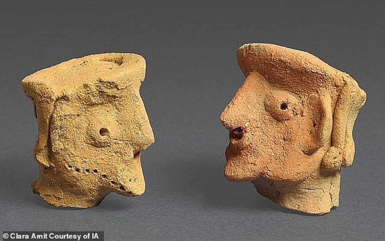 Figurinele descoperite în Israel