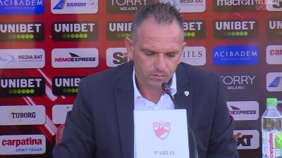 Cortacero i-a amețit pe fanii lui Dinamo de la prima conferință de presă. Ce a promis spaniolul