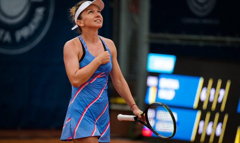 Cu cine joacă Simona Halep în semifinale la Praga. Şanse mari pentru un duel românesc