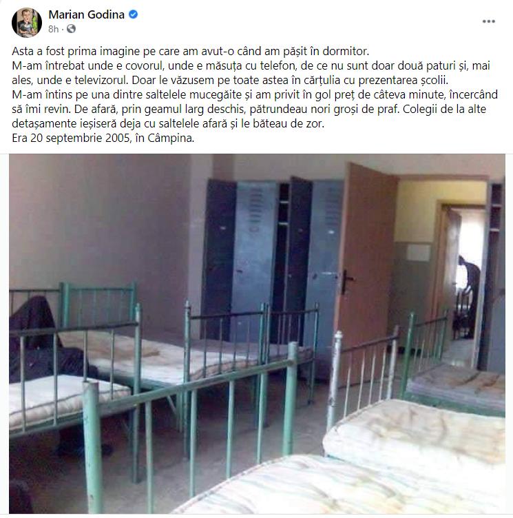 Ce a pățit Marian Godină, la admiterea în școala de Poliție. Imaginile neașteptate