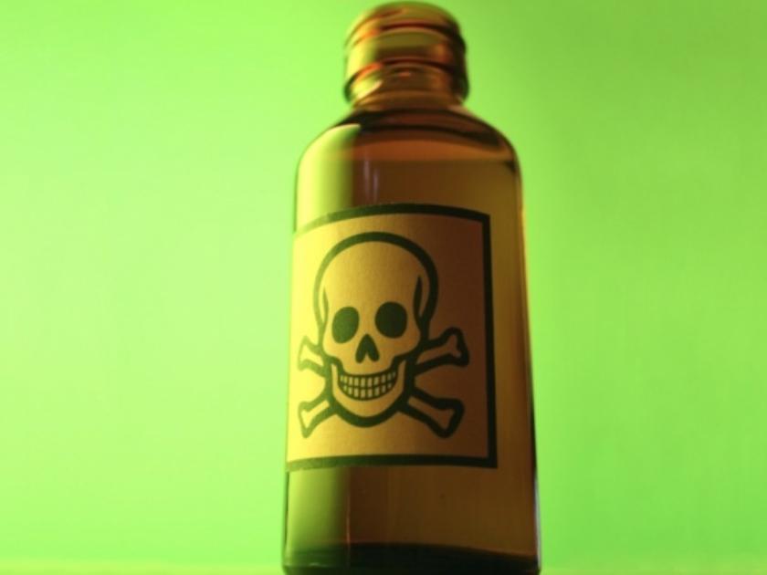 Sticlă cu otravă