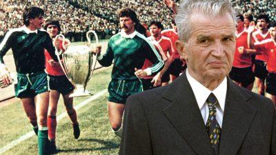 Cum se aranjau meciurile de fotbal pe vremea lui Ceaușescu și cum le vedeau oamenii, deși nu se transmiteau la TV