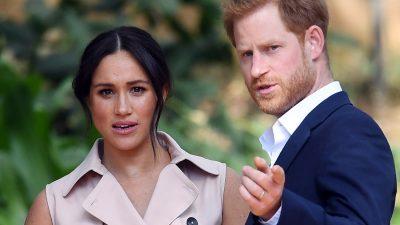 Familia Regală Britanică, umilită de Meghan Markle și Harry. Gestul care i-a scos din sărite