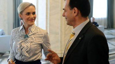 Gabriela Firea, umilită public de Ludovic Orban. Ce a putut să spună despre Podul Ciurel, lucrarea ei