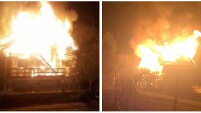 I-a luat foc casa din Brașov! Artistul este disperat, el și familia au rămas pe drumuri