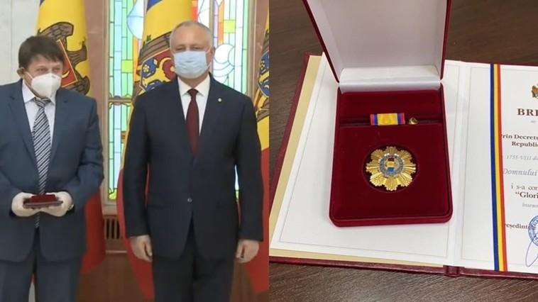 """Președintele Republicii Moldova, """"Gloria Muncii"""""""