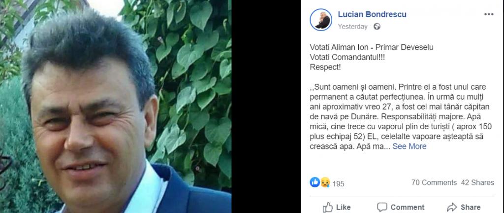 """Ireal! PSD candidează la alegeri cu un primar mort. De ce nu îl retrag """"Pentru noi nu e mort"""""""