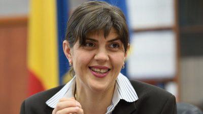 Laura Codruța Kovesi se mărită, cu o condiție. Iubitul de la SPP a cerut-o de nevastă