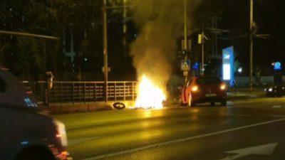 Accident mortal în Capitală. Un tânăr motociclist a fost spulberat de o mașină a cărei șoferiță nu i-a acordat prioritate