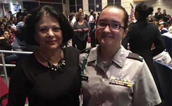 Fiicele Elenei Cârstea, soldati in armata SUA