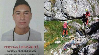 Cine este Eduard Bobirică, tânărul dispărut acum mai bine de o lună și găsit mort de salvamontiști acum