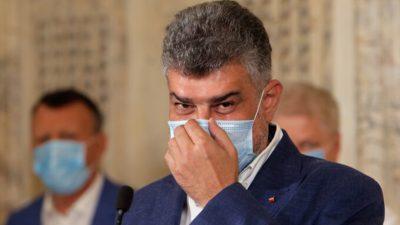 Alertă în PSD, după ce Marcel Ciolacu este suspectat de COVID-19. Cu cine a intrat în contact liderului partidului