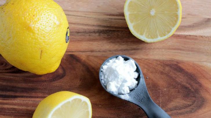 Trucuri cu bicarbonat de sodiu si lamaie