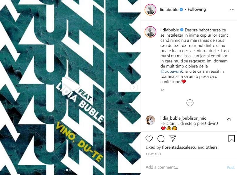 Lidia Buble, confesiuni despre relația cu Răzvan Simion