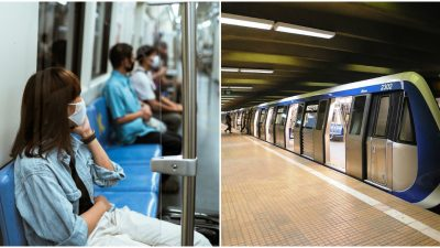 Cum a fost surprinsă o mamă la metrou. Imaginea care a emoționat o lume întreagă