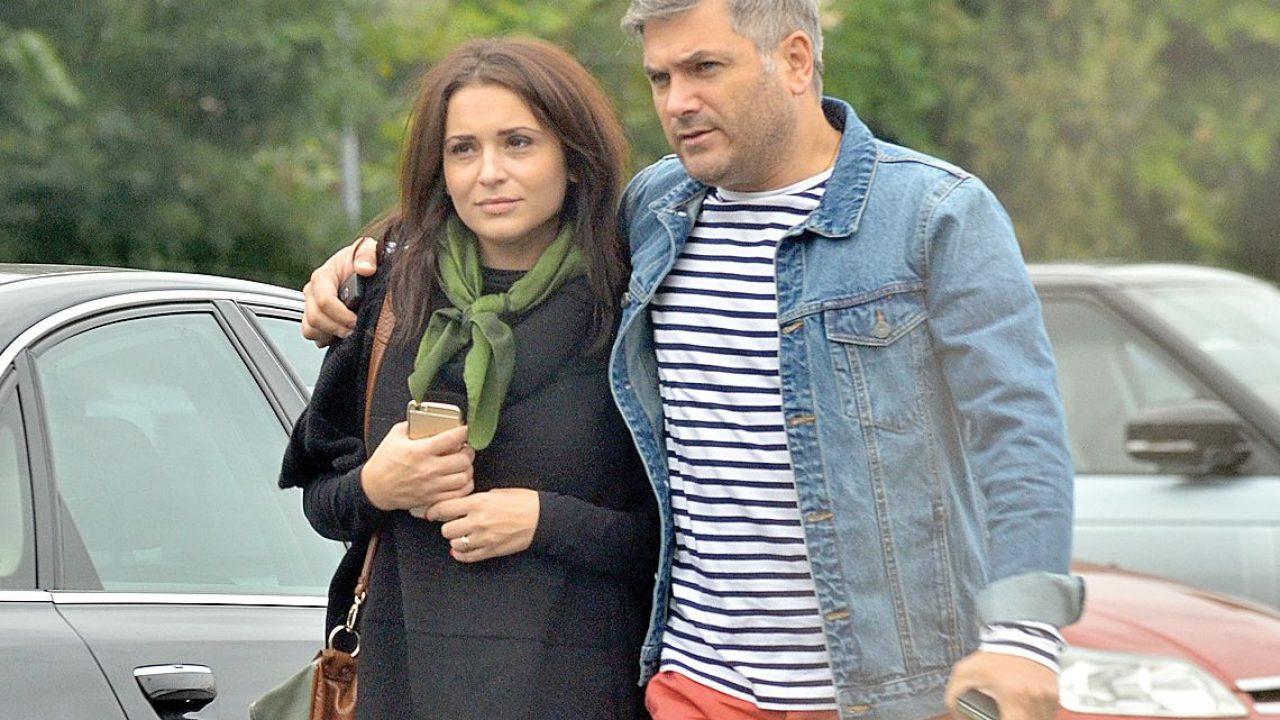 Mircea Radu si Raluca Olaru, sotia sa