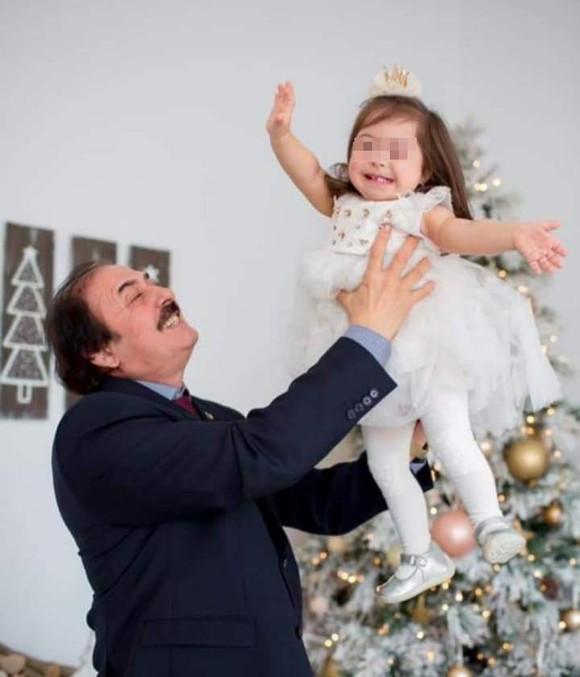 Cum arată fiica lui Nicolae Botgros! Ce face micuța ori de câte ori îl vede, la TV
