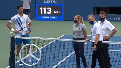 Cât a fost de fapt amenda pe care a primit-o Novak Djokovic după descalificarea de la US Open 2020. Americanii au băgat şi sporuri şi s-a ajuns la o sumă colosală!