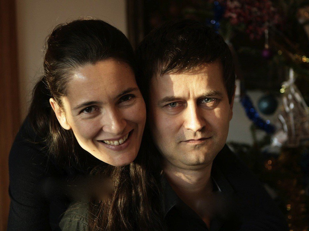 Clotilde Armand si Sergiu Moroianu, sotul ei