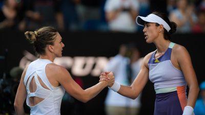 Simona Halep – Garbine Muguruza 6-3, 4-6, 6-4. Simona Halep, calificare dramatică în finala de la Roma