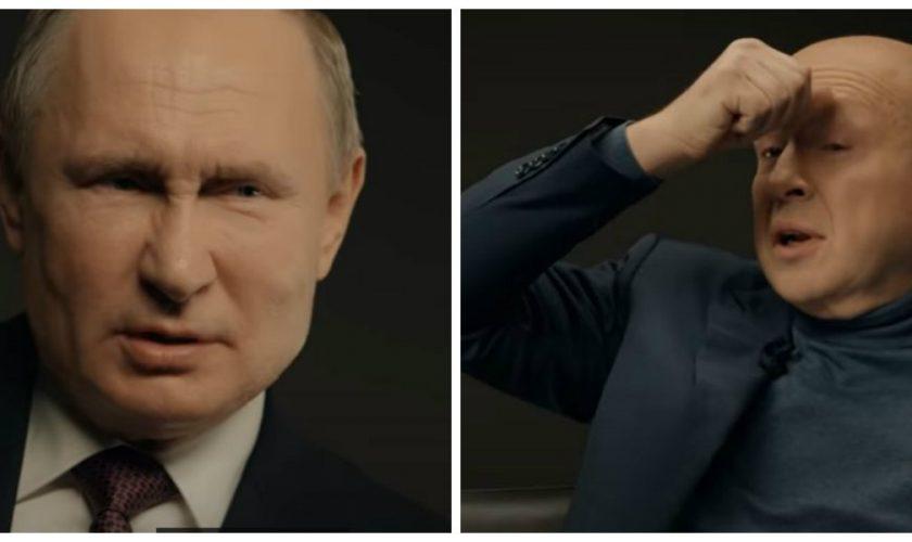 Ce a pățit jurnalistul care a tușit în timpul interviului cu Vladimir Putin. Președintele Rusiei a pus piciorul în prag VIDEO