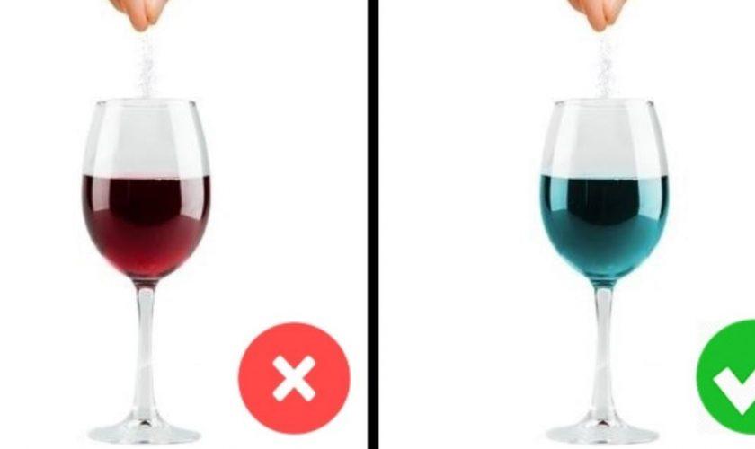 Ce se întâmplă când pui bicarbonat de sodiu în vin. Secretul pe care românii nu-l cunosc