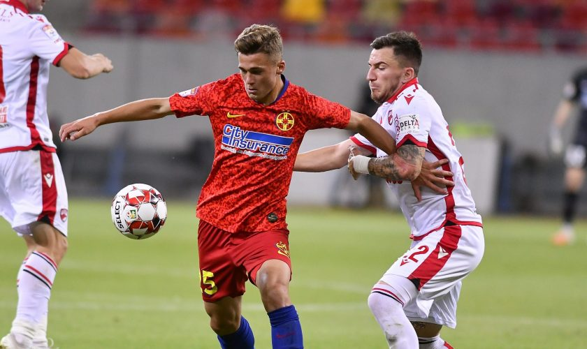 FCSB – Dinamo 3-2, derby decis de arbitrajul catastrofal al lui Petrescu!