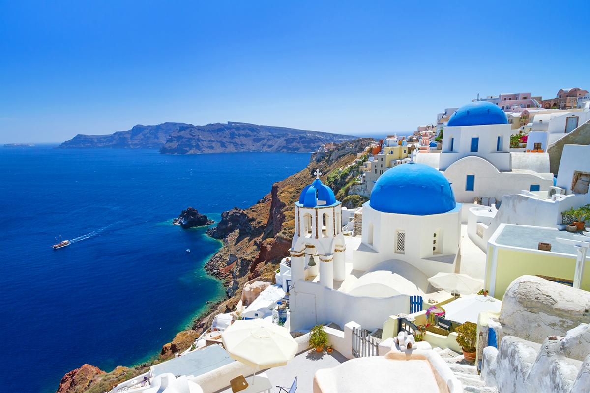 Locuri de vizitat în grecia. Santorini