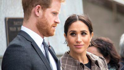 "Meghan Markle, ținta unui nou atac: ""Prințul Harry, o marionetă ținută ostatic"""