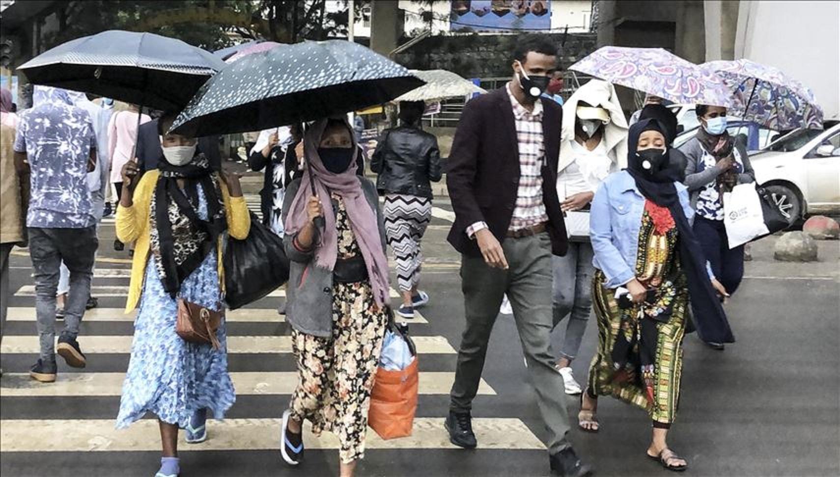 Etiopienii, pedespsiti cu inchisoarea daca nu poarta masca