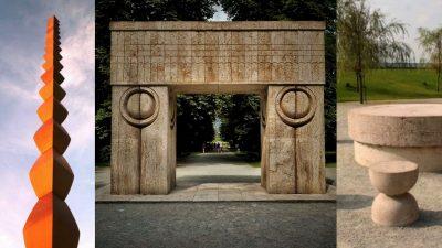 82 de ani de la sculpturile lui Brâncuși. Masa Tăcerii și Coloana fără sfârșit, povești uimitoare