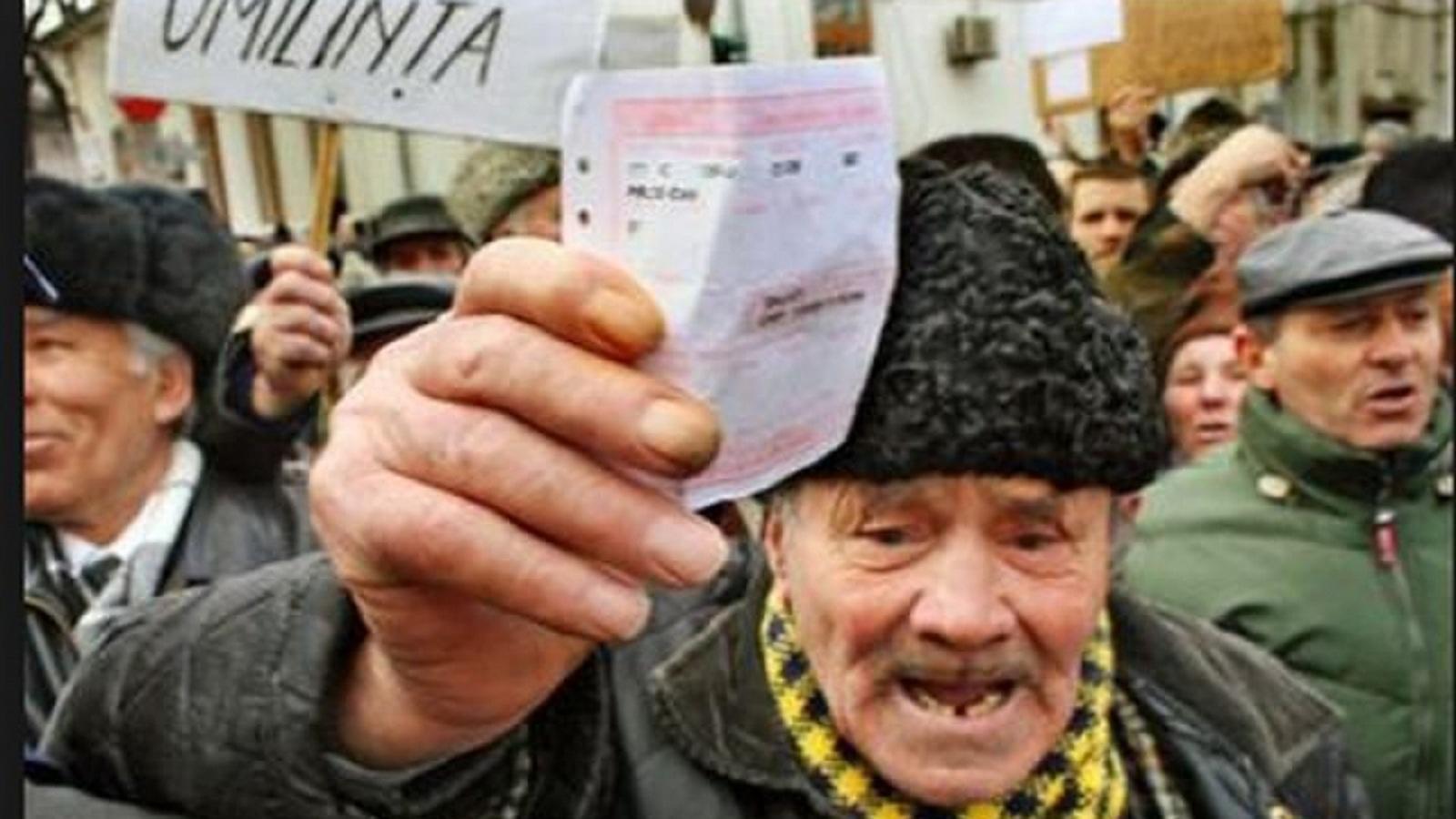 Pensionarii vor marirea cu 40% a pensiilor